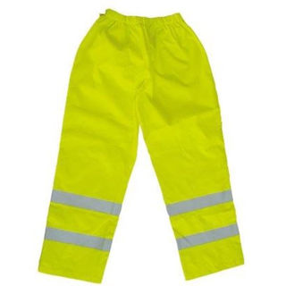 Picture of High Vis Contractor Waterproof Trousers