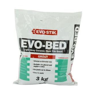 Picture of Evostik Evo-Bed Grout Light Grey 3kg