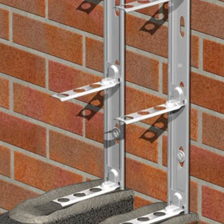 Picture of Multi-Starter Universal Stainless Steel 2.4m Wall Starter