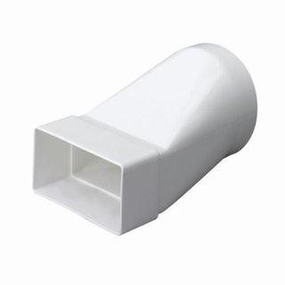 Picture of Modular Ducting S100 Round To Rectangular Adapter DD070