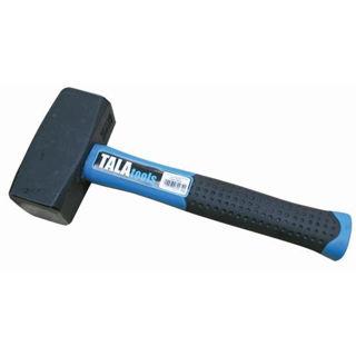 Picture of Tala Fibreglass Shaft Square Face Lump Hammer