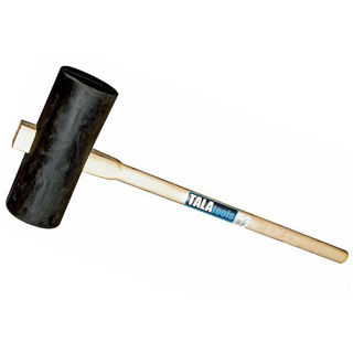 Picture of Tala Heavy Duty Rubber Paviors Maul with Handle