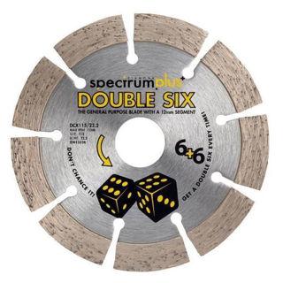 Picture of Spectrum Plus Double Six Diamond Blade General Purpose