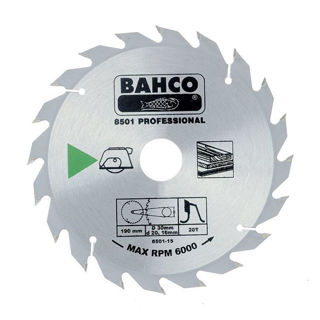 Picture of Bahco Circular Saw Blade 184mm x 20 x 24T 8501-13