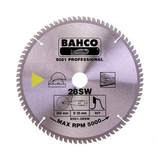 Picture of Bahco Circular Saw Blade 250mm x 30 x 60T 8501-28SW