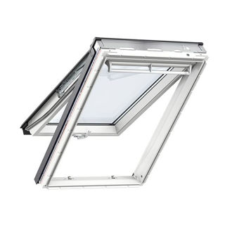 VELUX White Polyurethane Top Hung Roof Window 0700