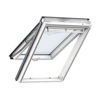 VELUX White Polyurethane Top Hung Triple Glazed Roof Window 0062