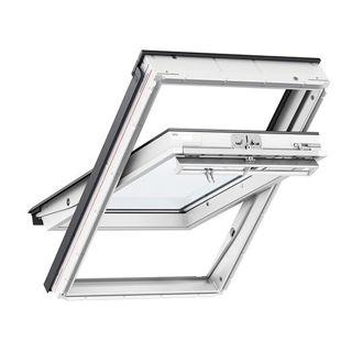 VELUX White Polyurethane Centre Pivot Roof Window 0034