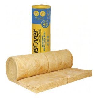 Isover - G3 Acoustic Partition Roll 50mm Murdock Builders Merchants