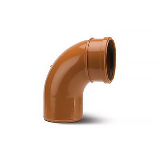 Picture of Polypipe 160mm 87.5 Degree S/S Bend UG612