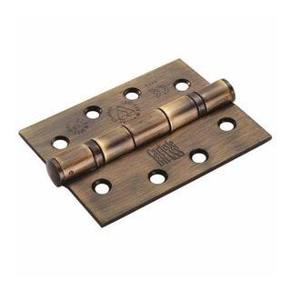 "Picture of 102mm (4"") Grade 13 Ball Bearing Hinge - Bronze"