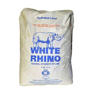 White Rhino Hydrated Lime 25kg