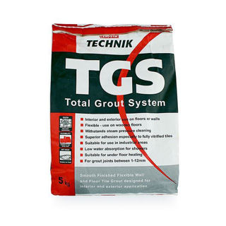 Technik Tech Tile Grouting System Grey 5kg