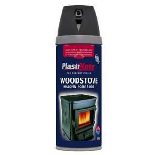 Picture of Spray Paint Woodstove Black 400ml