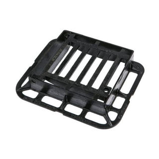 Picture of Clark Drain Ductile Iron Hinged Grating 336 x 308 x 75mm C250