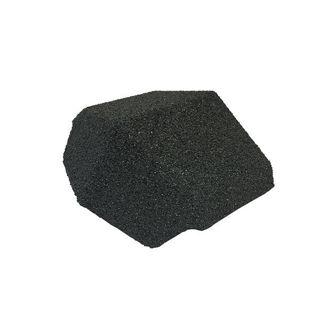 Plastic Hip End Cap 135 Titanium Grey