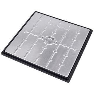 Galvanised Manhole Cover 450 x 450 x 5T