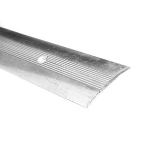 Trojan Carpet Strip Flat 0.9m Silver
