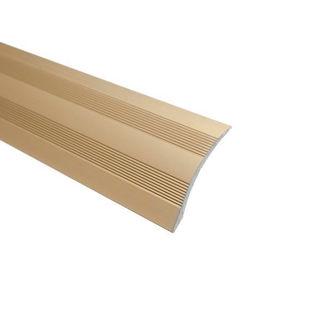Trojan Shelf Adhesive Universal Coverstrip Gold