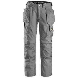 Snicker  Canvas Trousers Grey Murdock Builders Merchants