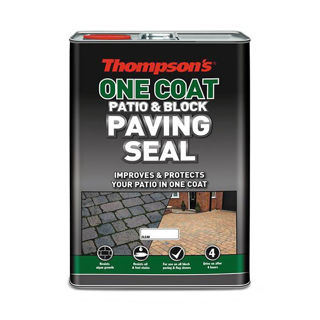Picture of Thompsons One Coat Patio & Block Paving Seal 5Lt