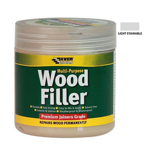 Everbuild Wood Filler Multi Purpose Light