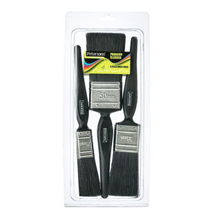 Picture of Petersons Paragon Blended Paint Brushes (3 Pack)