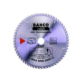 Bahco Circ Saw Blade 180mm x 30 x 40T 8501-12F Murdock Builders Merchants