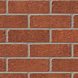 Picture of Ibstock Anglian Red Rustic Brick (Each)