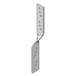 Galvanised Standard Twist  Strap