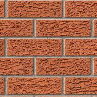 Picture of Ibstock Tyrone Red Rustic Brick (Each)