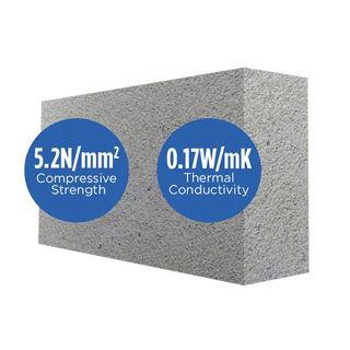 Quinn Lite Block 440 x 215 x 100mm 5N Murdock Builders Merchants