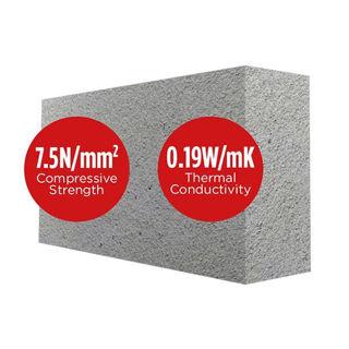 Quinn Lite Block 440 x 215 x 150mm 7N Murdock Builders Merchants