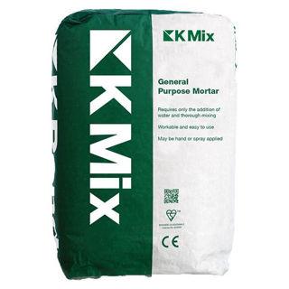 K-Mix Gp Mortar (Grey) 25kg Murdock Builders Merchants
