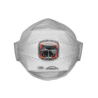 Bey Typhoon FFP3V Horiz Valve F/Flat Mask