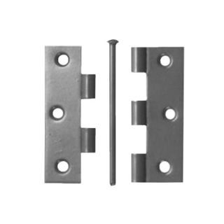 """Picture of 3 1/2"""" Loose Pin 1840  Butt Hinge - Bright Zinc (Per Pair)"""