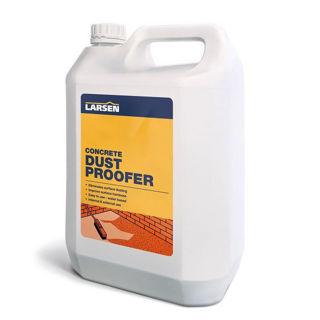Larsen Concrete Dustproofer & Hardener 5L Murdock Builders Merchants