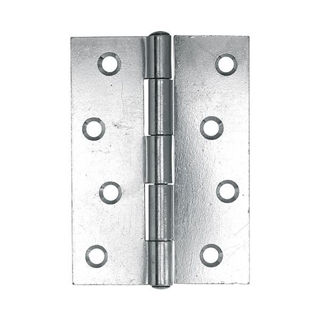 """Picture of 102mm (4"""") 1838 NP Fixed Pin Butt Hinge - Nickel Plated"""