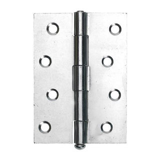 """Picture of 102mm (4"""") 1840 Loose Pin Butt Hinge - Nickel Plated"""