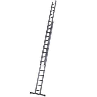 Aluminium Double Extension Ladder 4.82m - 8.59m