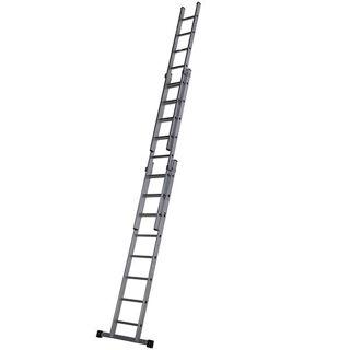 Aluminium Triple Extension Ladder 2.5m - 5.56m