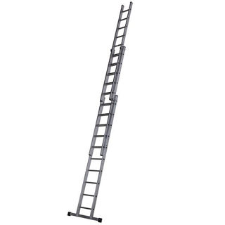 Aluminium Triple Extension Ladder 3.08m - 7.43m