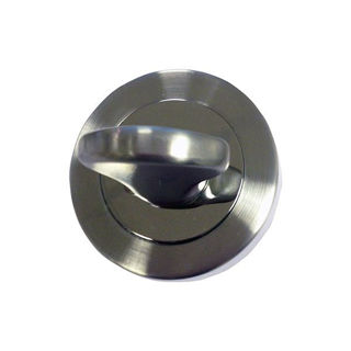 Picture of Lever on Rose Bathroom Turn & Release - Polished Chrome/Satin Chrome