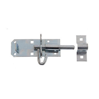 """Picture of Padbolt Bright Zinc 102mm (4"""") (Pre-Packed)"""