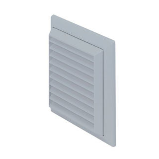 Picture of Modular Ducting 150mm Louvre Grille Round Flyscreen/Outlet