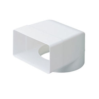 Picture of Modular Ducting 100 Fixed Socket Plenum 110x54mm to 100mm DD030