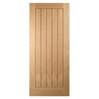 White Oak Mexicano Door 40mm