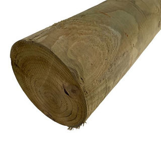 Timber Round Post 100mm x 1.8m
