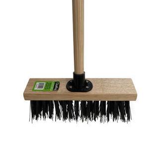 "Gardag Black PVC Broom Assembled 13"" Murdock Builders Merchants"