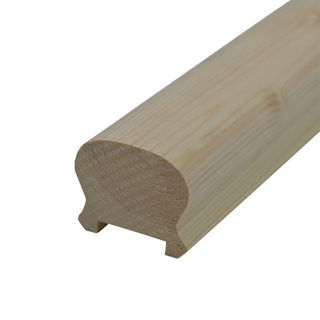 Picture of Redwood 69 x 57 Horse Shoe Handrail
